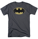 T-shirt Batman Distressed Sheild Logo
