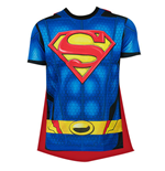 T-shirt Superman con mantello