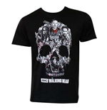 T-shirt The Walking Dead Skull Logo