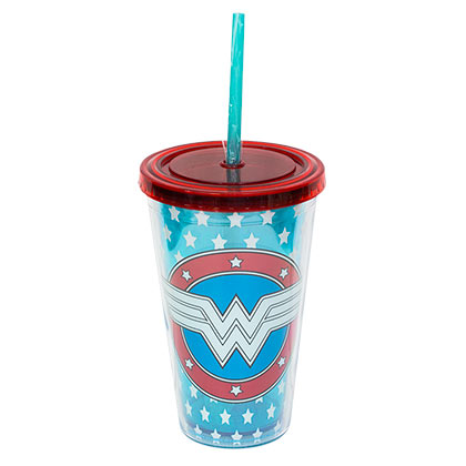 Tazza da viaggio Wonder Woman Glow In The Dark
