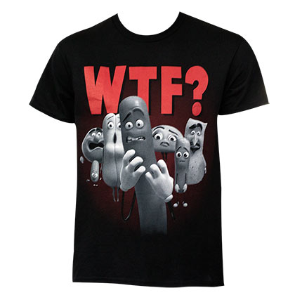 T-shirt Sausage Party da uomo