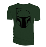 T-shirt Star Wars Boba Fett Vector Helmet