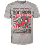 T-shirt Deadpool Taco Tuesday