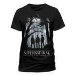 T-shirt Supernatural - Group Outline