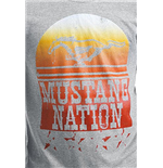 Ford - Grey Melange Mustang Nation (T-SHIRT Unisex )