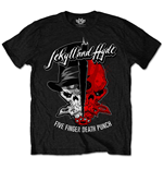 Five Finger Death Punch - Jekyll & Hyde Black (T-SHIRT Unisex )