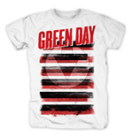 Green Day - Black White & Red Allover (T-SHIRT Unisex )