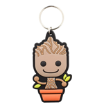 Guardians Of The Galaxy - Baby Groot (Portachiavi Gomma)