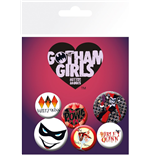Dc Comics - Gotham Girls Harley Quinn (Badge Pack)