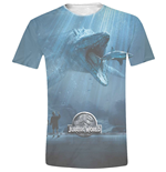 Jurassic World - Mosasaurus Full Printed (T-SHIRT Unisex )