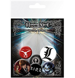 Death Note - Mix (Badge Pack)