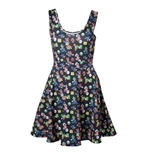 Nintendo - Mario Dress Black (abito Donna )