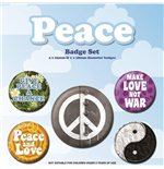 Peace (Pin Badge Pack)