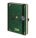 Nintendo - Zelda Green Notebook