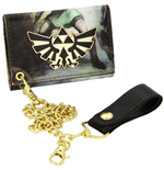 Nintendo - All Over Printed Zelda Trifold Chain Twilight (Portafoglio)
