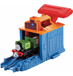 Mattel CFC54 - Thomas And Friends - Take-N-Play - Lanciatore Locomotiva Luke