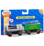 Mattel Y4505 - Thomas And Friends - Wooden Railway - 2-Pack Diesel E Steamie