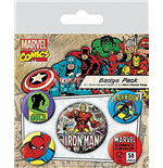 Marvel Retro - Iron Man (Pin Badge Pack)