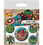 Marvel Retro - Spider-man (Pin Badge Pack)