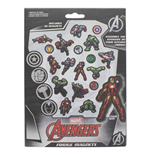 Marvel Comics Fridge Magnet 18 Pack (Magneti)