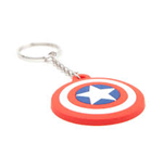 Marvel Comics - Captain America Shield Logo (Portachiavi Gomma)