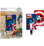 Marvel - Capitan America - Card USB 8GB