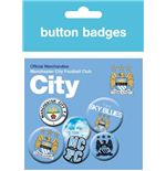 Manchester City - Crests (Badge Pack)