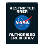 Nasa - Crew (Targa Metallica Piccola)