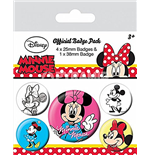 Minnie Mouse - Through The Ages (Pin Badge Pack)
