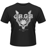 T-shirt CBGB Skull Wings