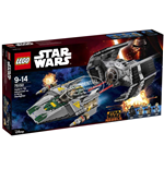 Lego 75150 - Star Wars - Tie Advanced Di Vader Contro A-Wing Star