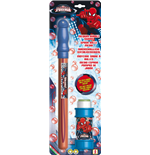Dulcop Bubble World - Bolle Di Sapone - Spada Bolle Media - Spider-Man - Blister 1 Pz 175 Ml