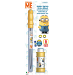 Dulcop Bubble World - Bolle Di Sapone - Spada Bolle Media - Minions - Blister 1 Pz 175 Ml