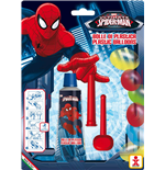 Dulcop Bubble World - Bolle Di Plastica - Spider-Man - Blister 1 Tubo 30 Gr