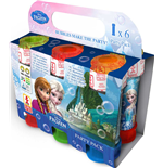 Dulcop Bubble World - Bolle Di Sapone - Party Pack 6 Pz 60 Ml - Frozen