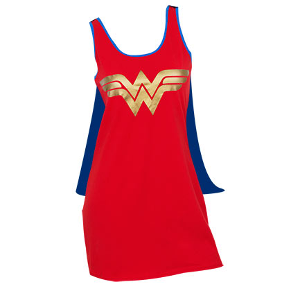 Vestito Wonder Woman con mantello