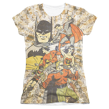 T-shirt Justice League da donna