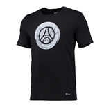 T-shirt Paris Saint-Germain 2016-2017 (Nero)