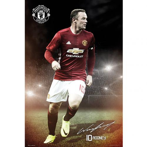 Poster Manchester United Rooney 15