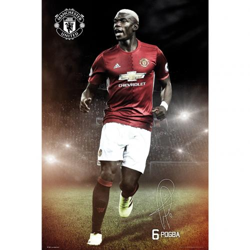 Poster Manchester United Pogba 20