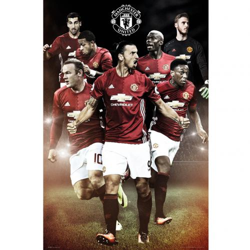 Poster Manchester United 234224