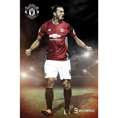 Poster Manchester United Ibrahimovic 22