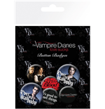 Vampire Diaries (The) - Stefan & Damon (Badge Pack)