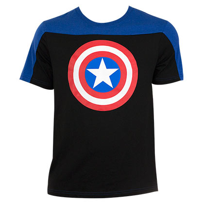 T-shirt Captain America Two-Tone