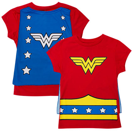 T-shirt Wonder Woman da ragazza