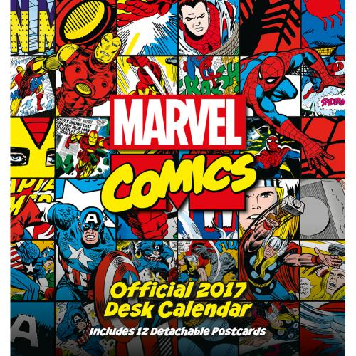 Calendario 2017 Marvel Comics