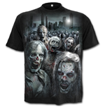 T-shirt Spiral - Walking Dead