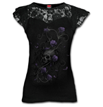 T-shirt Spiral Entwined Skull