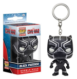 Funko - Pocket Pop! - Captain America 3 - Black Panther (Portachiavi)