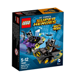 Lego 76061 - Dc Comics  Super Heroes - Mighty Micros - Batman Contro Catwoman